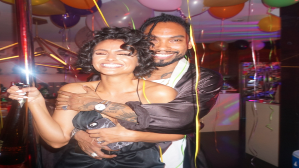 Miguel Makes His Fiancé Nazanin Mandi's Birthday Extra Special