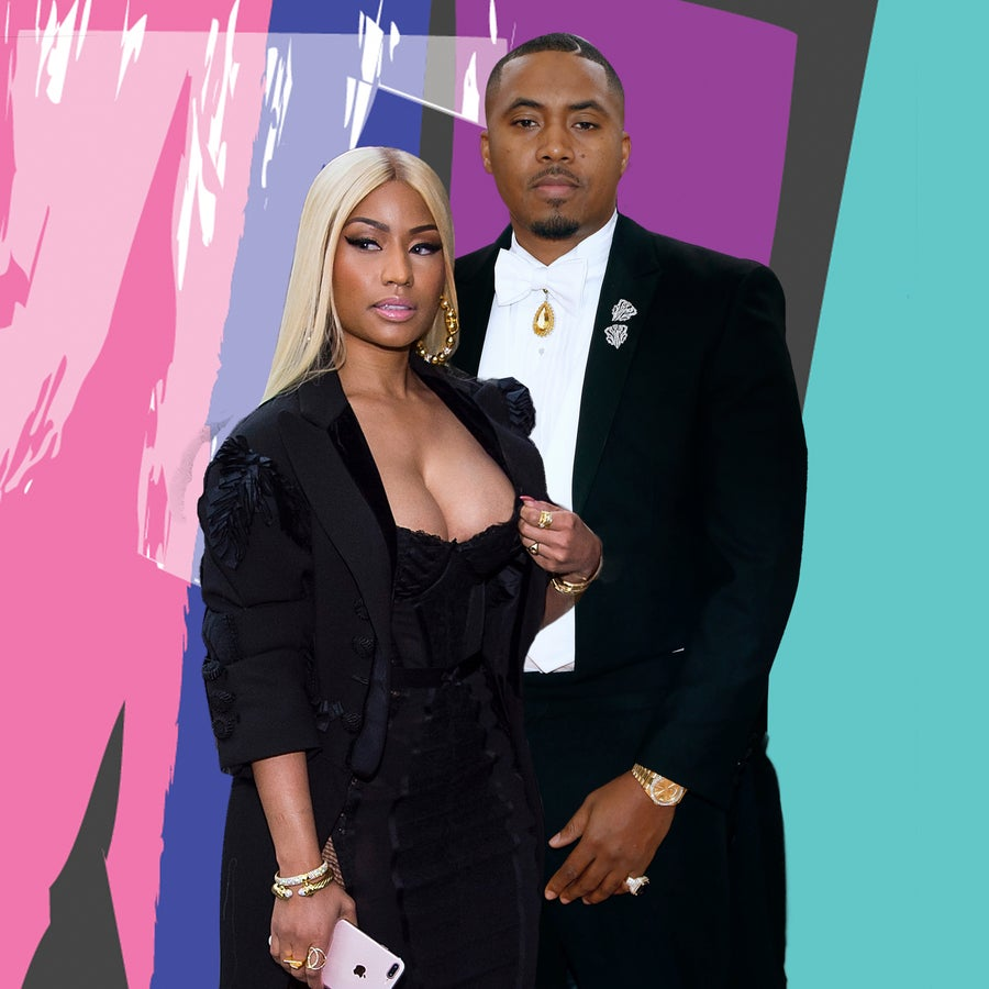 Are They or Aren't They? Nicki Minaj And Nas Cuddle Up For His 44th Birthday