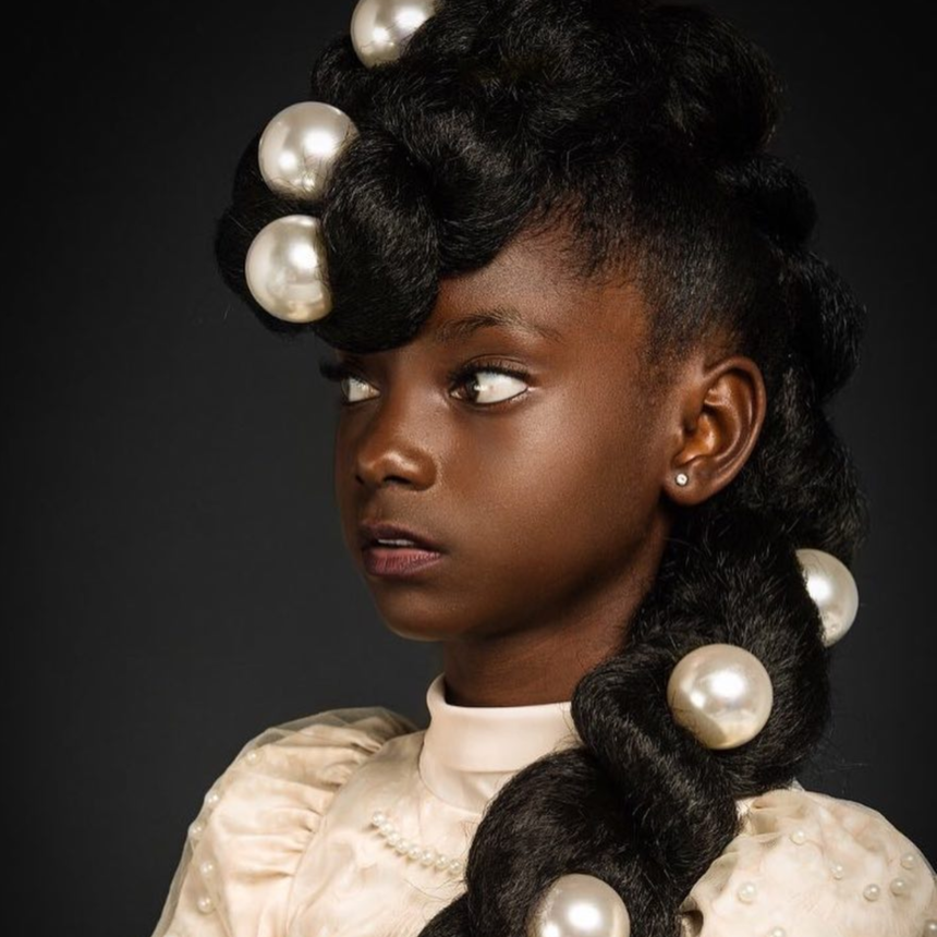 #BlackGirlMagic: This 11-Year-Old Designer Made History At New York Fashion Week