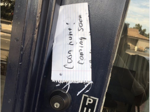 A Racist Letter Was Left At The First-Ever Black Business In This California Town