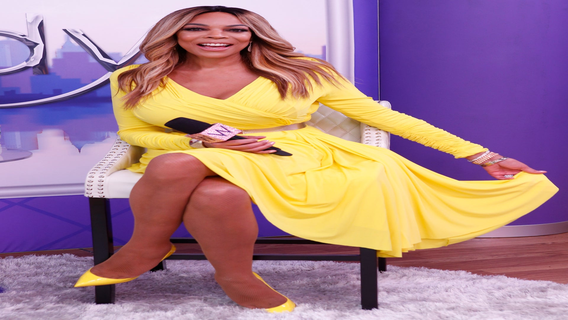 Wendy Williams Addresses Passing Out On Her Show: 'I'm Doing Fine'