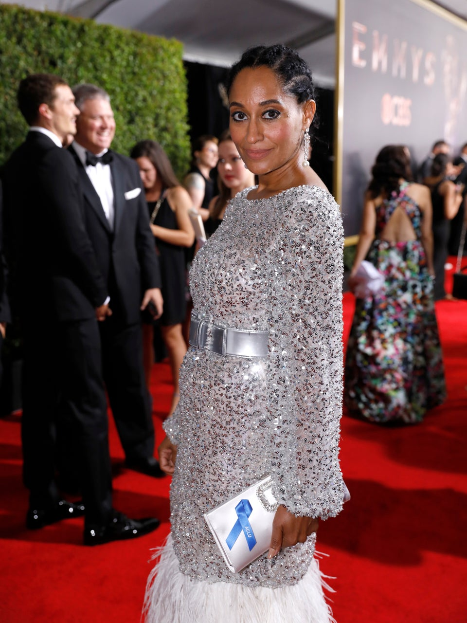 It Took Over 1,300 Hours To Make This Emmys Red Carpet Dress