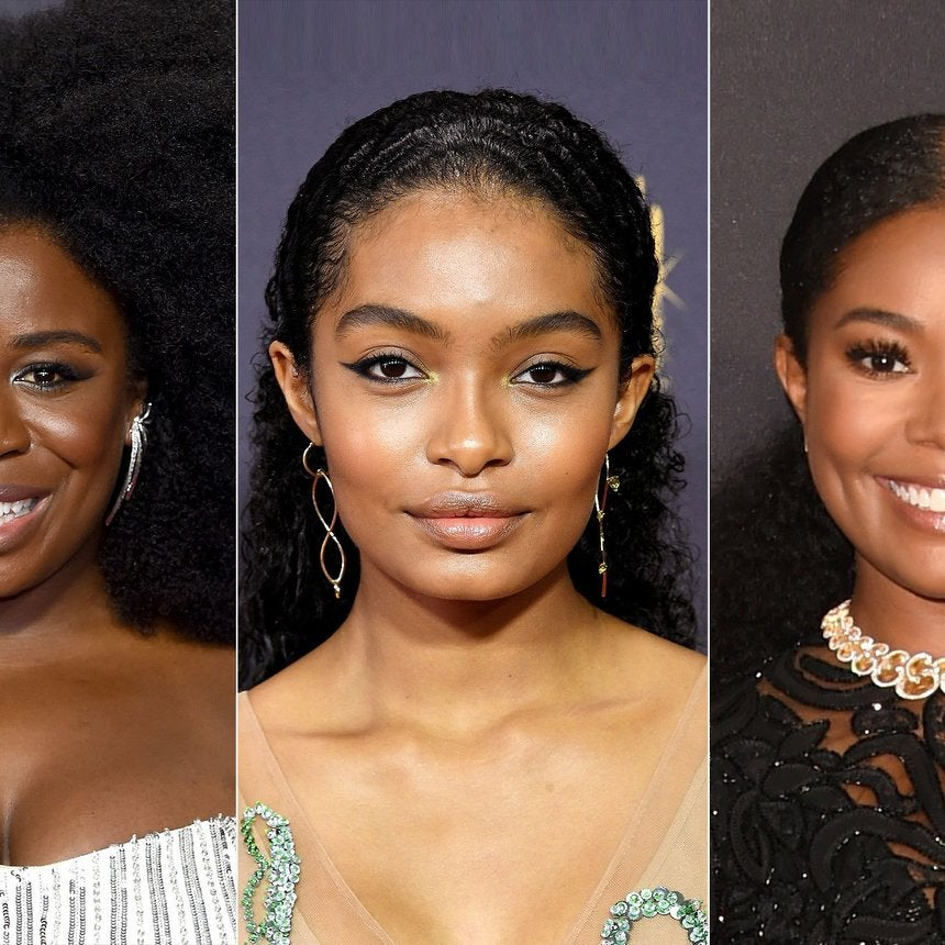 Au Naturale! Yara Shahidi, Uzo Aduba And More Stars Rocking Their Natural Hair At The Emmys