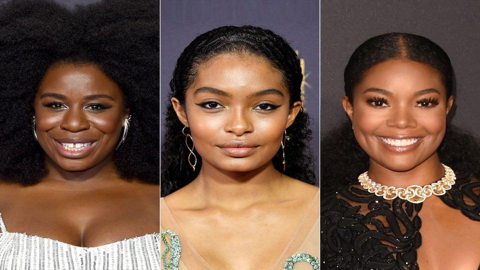 Au Naturale! Yara Shahidi, Uzo Aduba And More Stars Rocking Their Natural Hair At The Emmys