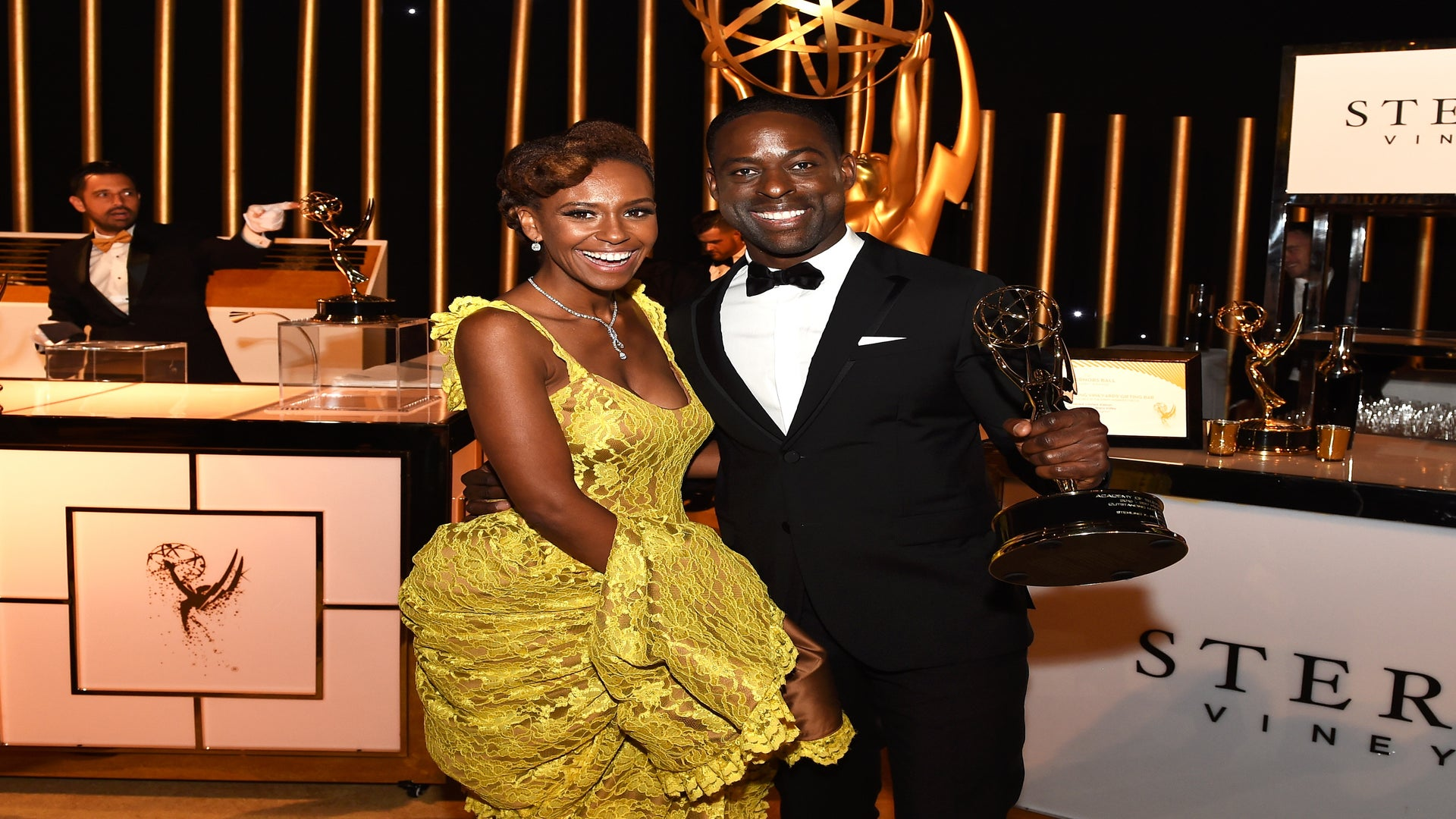 Sterling K. Brown Finishes His Emmys Speech Backstage With Heartfelt Message To His Family