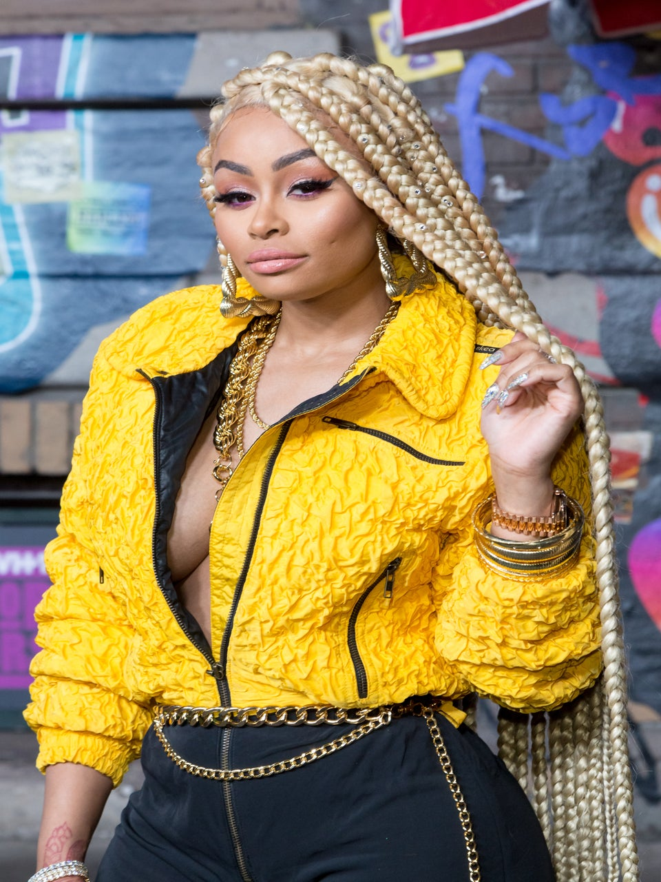 'Like A Pistol:' Blac Chyna Can Now Add Rapper To Her Résumé