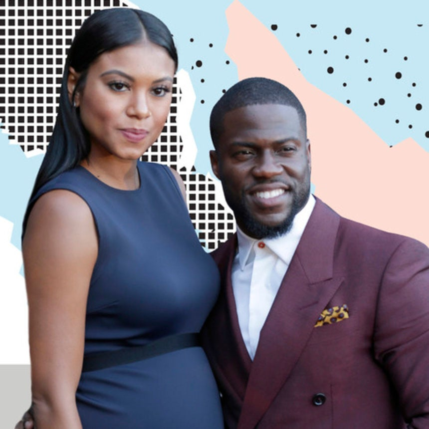 He's Here! Kevin And Eniko Hart Welcome Son Kenzo Kash