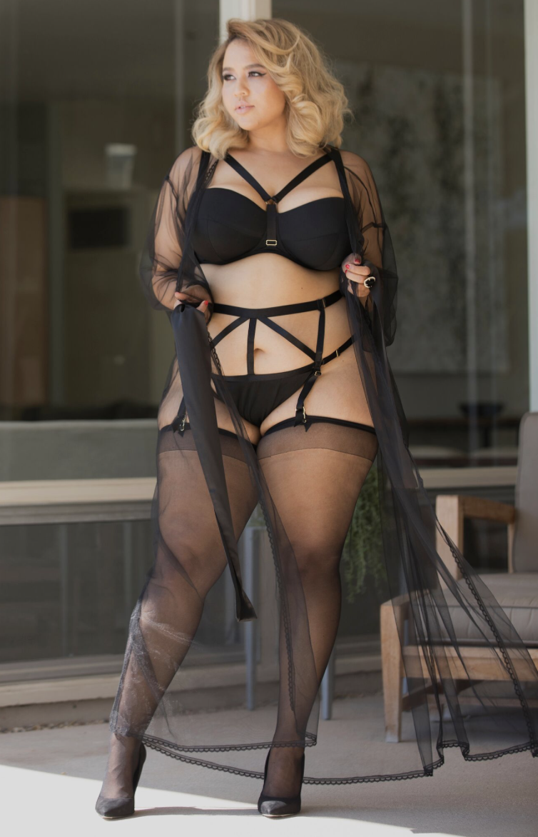 Gabi Fresh Just Launched A Lingerie Line For Curvy Girls And We Want Everything