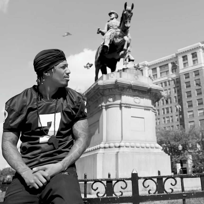 ICYMI: Nick Cannon Joins #TakeTheKnee Protest With A Chilling Video Message You Have To See