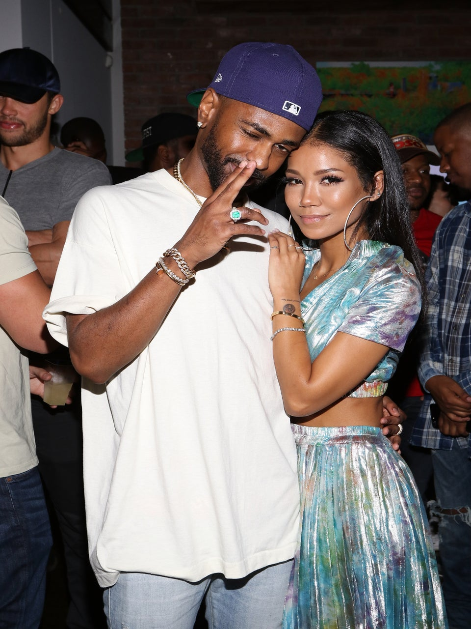 Jhené Aiko Has A Very Realistic Big Sean Tattoo