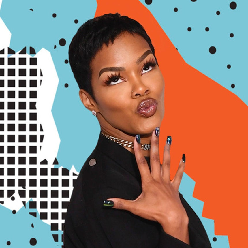 Teyana Taylor Reveals How Long She Waited For Iman To See Her: Hair Tied Chillin' with No Makeup On