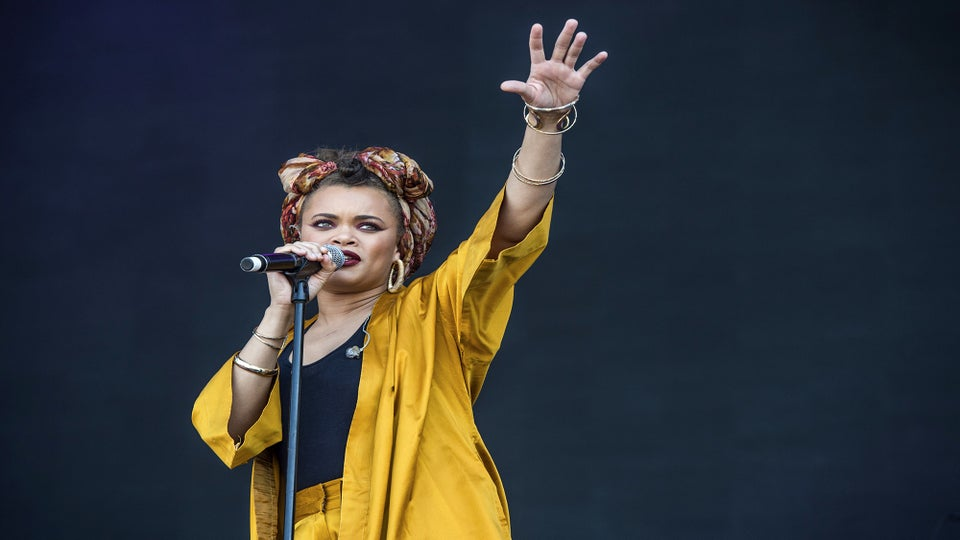 Andra Day Draws Inspiration From Fellow Global Citizen Festival Performer Stevie Wonder: 'I Love Him So Much'