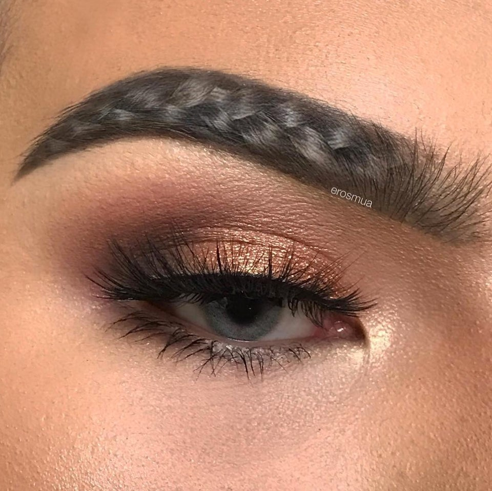Braided Brows Are The New Trend Taking Over Instagram, And Now We're Just Being Trolled