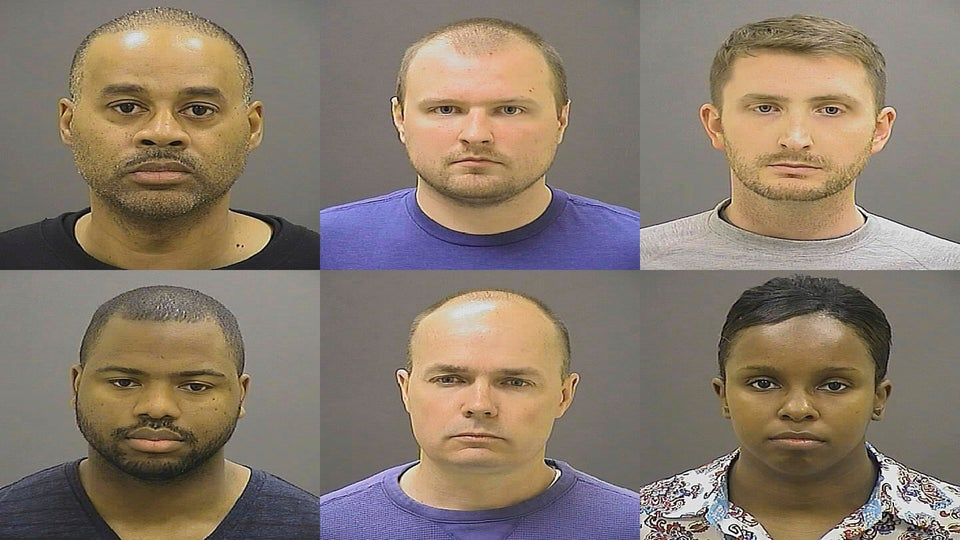 6 Officers Involved In Freddie Gray's Death Will Not Face Federal Charges