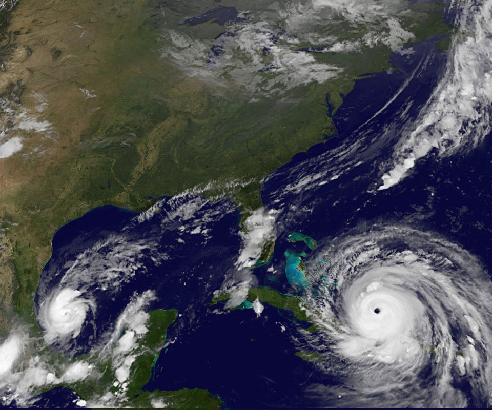 Hurricane Irma, Now A Category 4 Storm, Slams The Turks And Caicos En Route To Florida