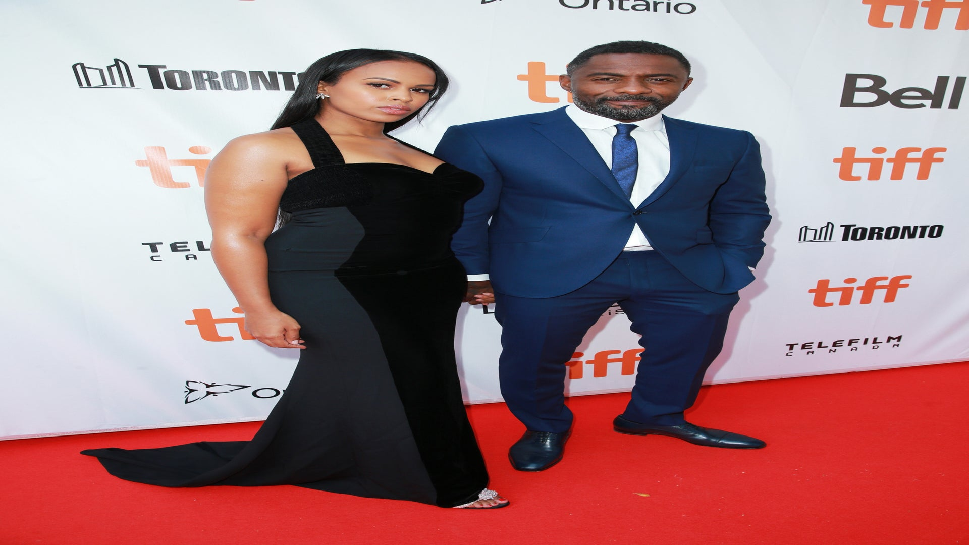 Idris Elba Hits Toronto Red Carpet With 'Beautiful' New Girlfriend Sabrina Dhowre–A Former Miss Vancouver!