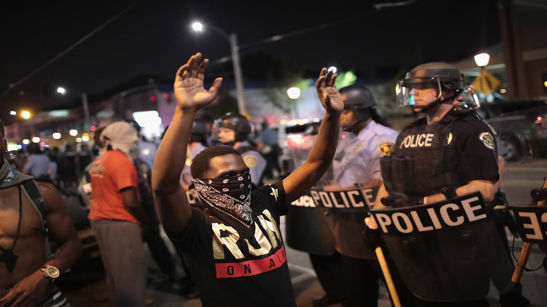 Dozens Arrested During St. Louis Protests
