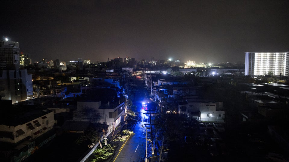 Puerto Rico Could Be Left Without Electricity For Months. Here's What To Know