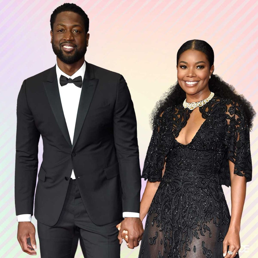 Gabrielle Union and Dwyane Wade's Slow Mo Kiss and All Black Everything Stole The Show At The 2017 Emmys