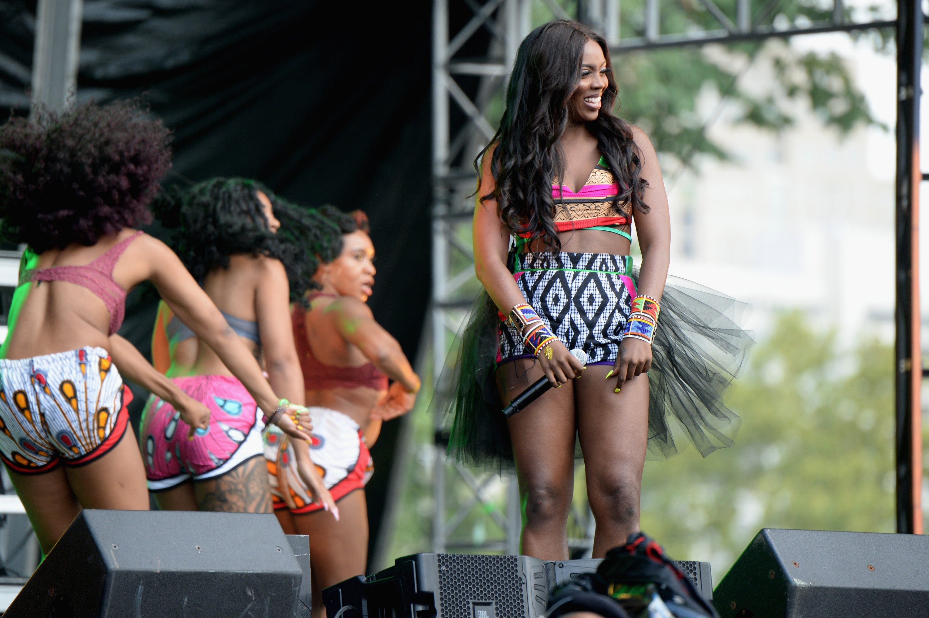 Afrobeat Diva Tiwa Savage Takes Us Behind The Scenes For Her Made In America Festival Debut