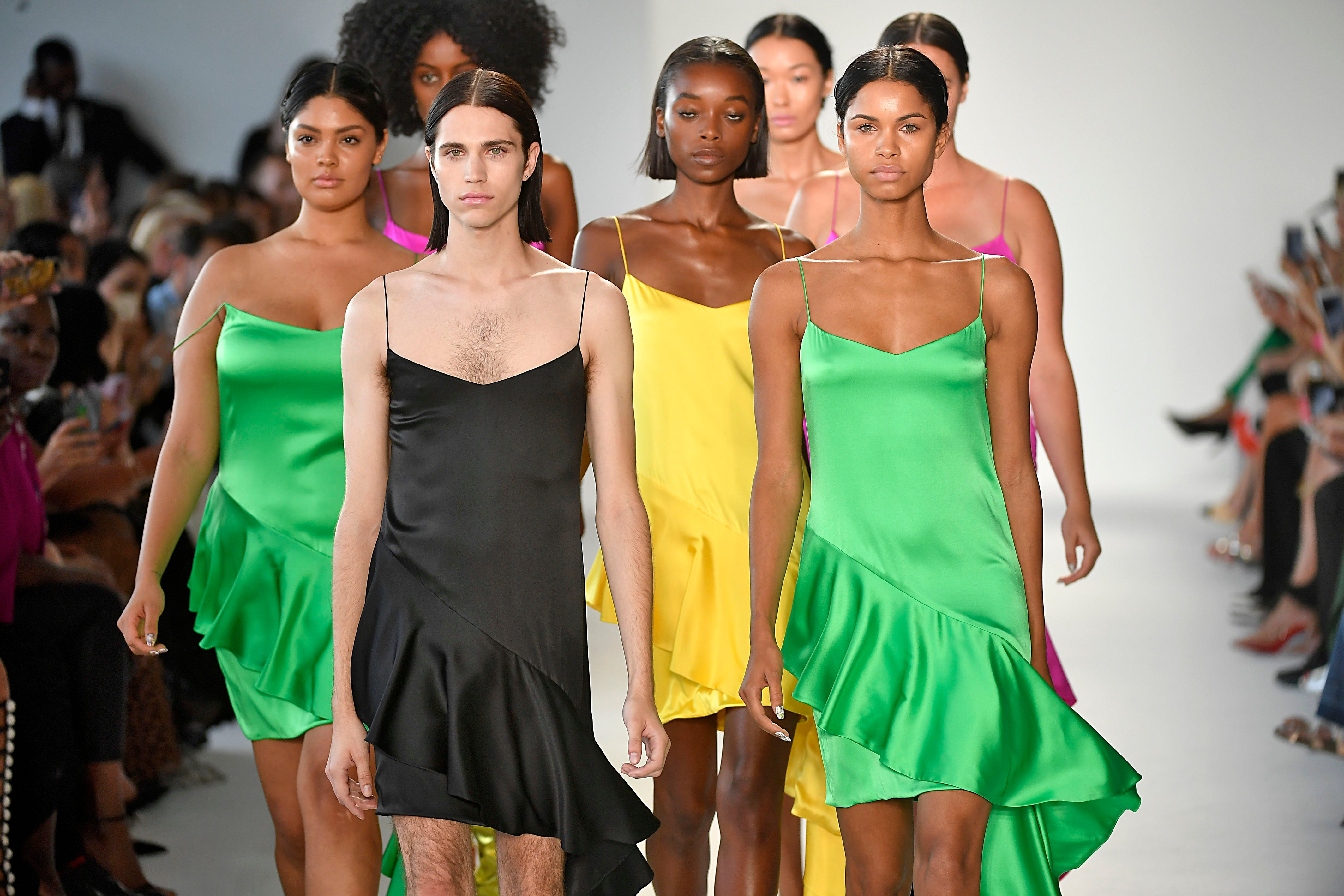 Christian Siriano Celebrates Curvy Bodies and Diversity At His New York Fashion Week Show