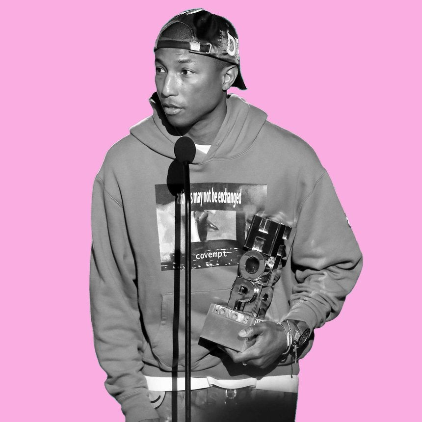Pharrell Williams Had Words For Complacent Fans During VH1's Hip Hop Honors