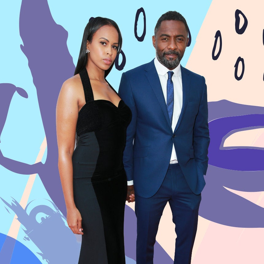 12 Cute Photos Of Idris Elba And His Fiancée Sabrina Dhowre That Say It All
