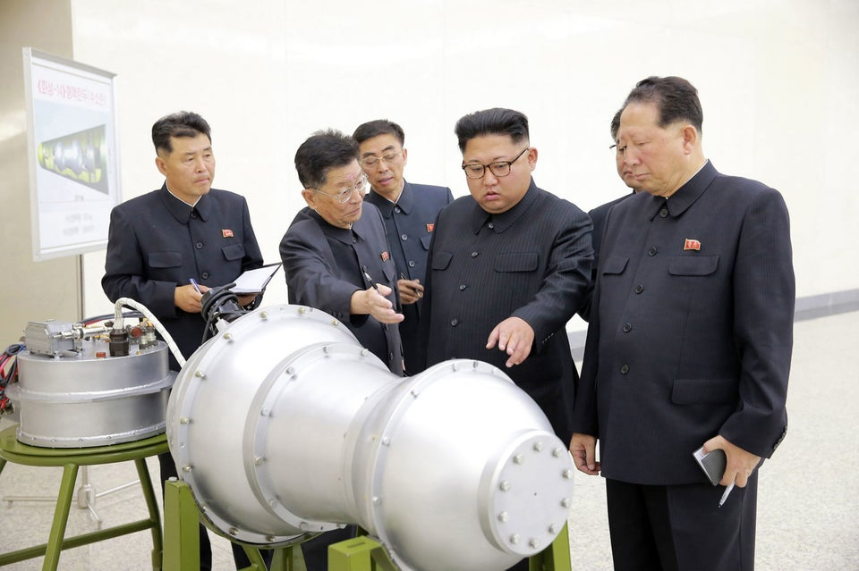 North Korea Says It Detonated a Hydrogen Bomb As Its Sixth Nuclear Test