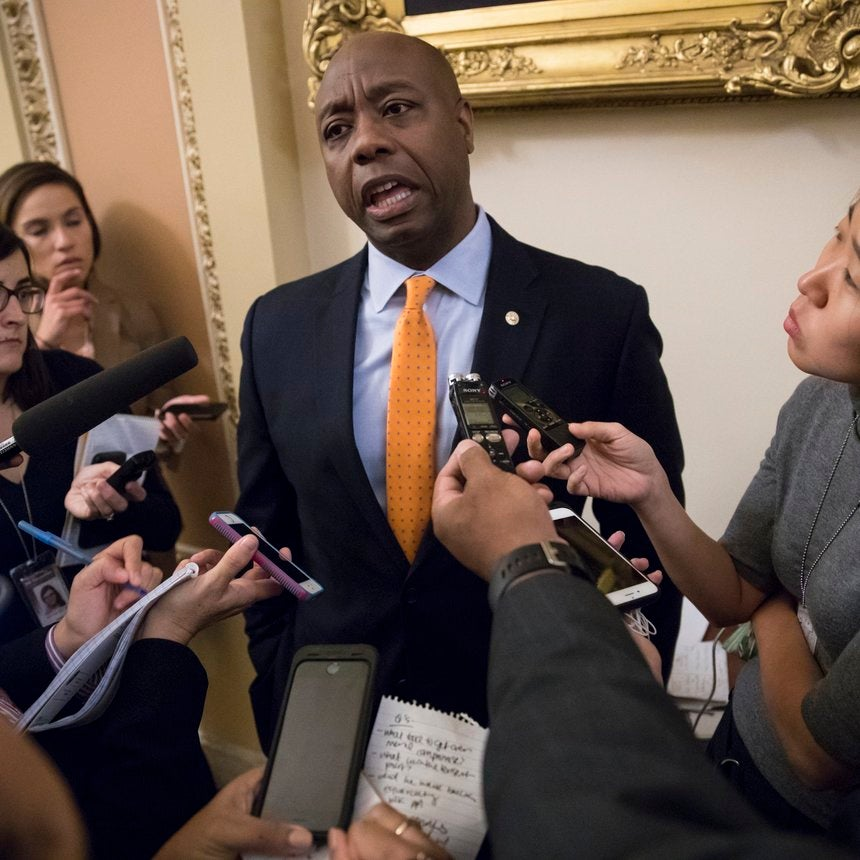The Sole Black Senate Republican Lectured President Trump On Racism After Charlottesville