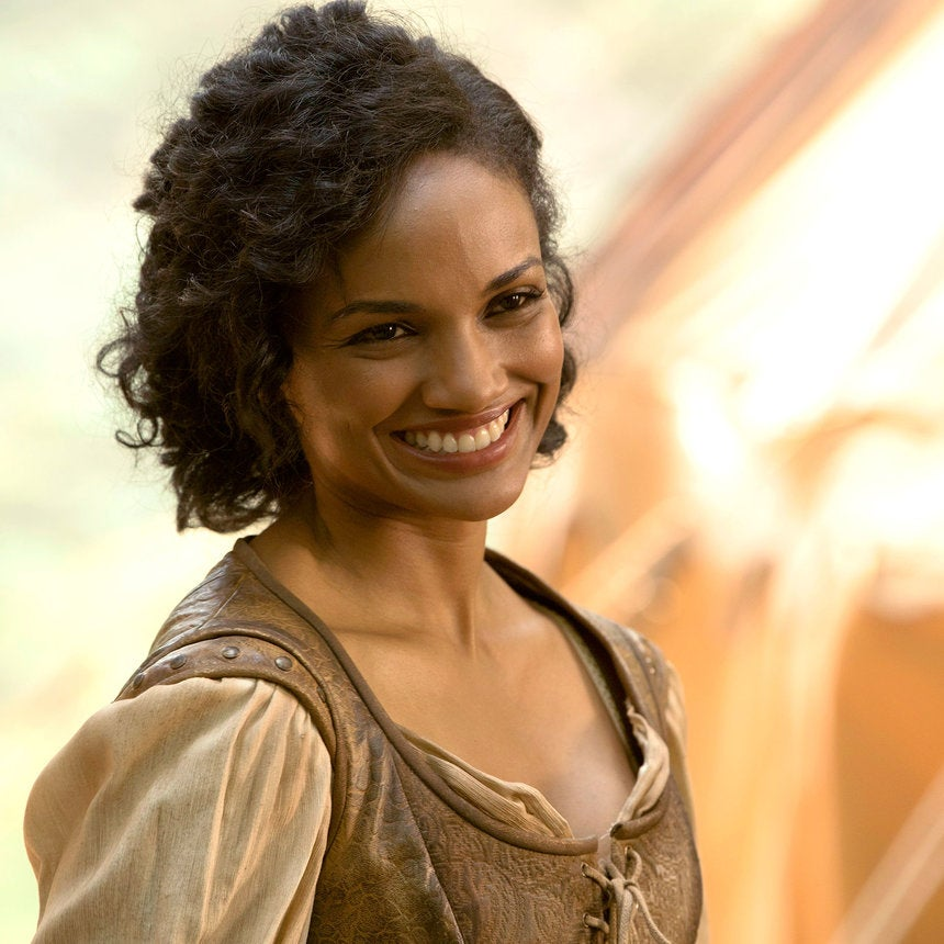 Once Upon A Time's Mekia Cox On Playing First Black Disney Princess