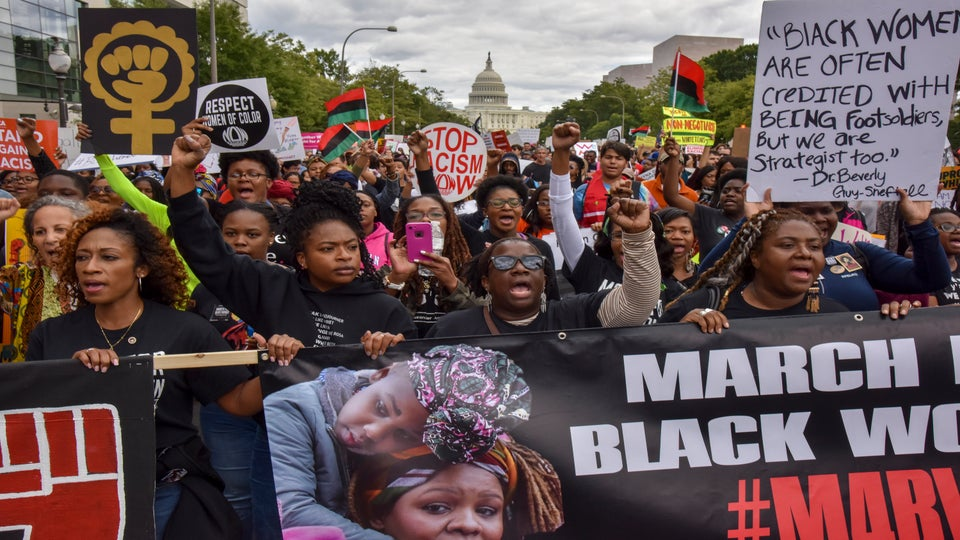 'It's Our Turn': The March For Black Women Placed Our Issues Front And Center