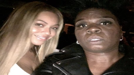 Leslie Jones Snaps Selfies With Beyoncé And Jay-Z After SNL Taping