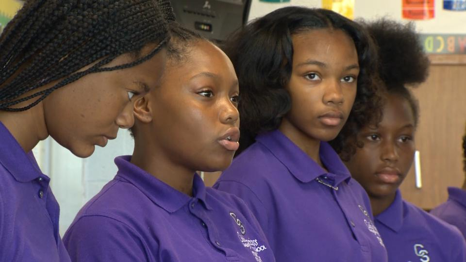 These Baltimore Middle School Students Raised $1000 For Hurricane Harvey Victims