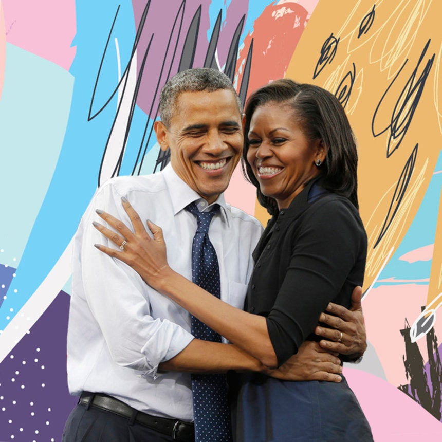 25 Beautiful Photos From Barack And Michelle Obama's Iconic 25 Year Marriage