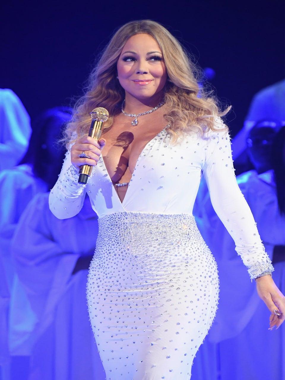 Mariah Carey ReactedTo The Las Vegas Shooting Live On-Air