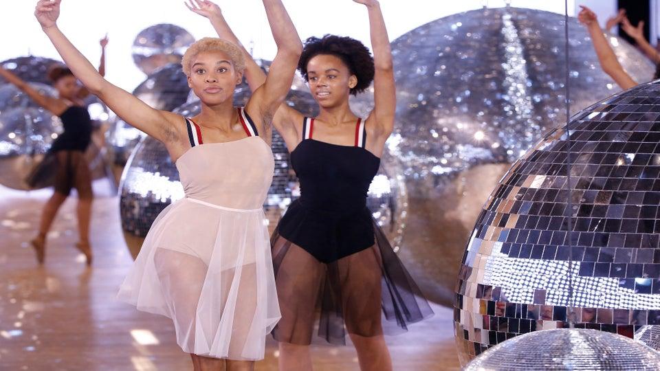 Black Hip-Hop Ballerinas Stole The Spotlight At The Moncler Spring 2018 Show