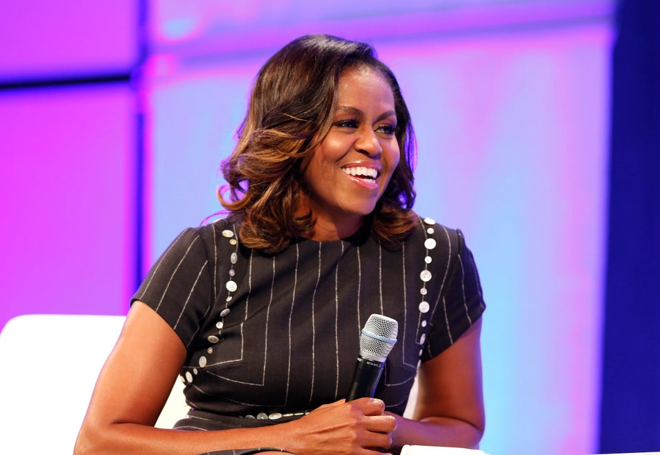Michelle Obama Encourages Women To Value Leadership Opportunities: 'Don't Waste Your Seat At The Table'