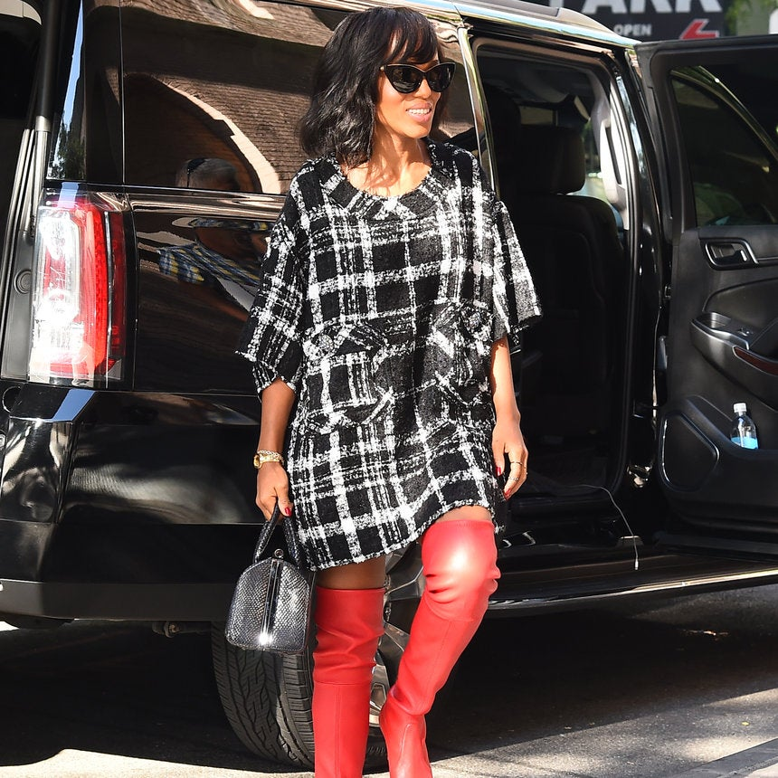 Get Kerry Washington's Entire Look for Under $150 (Boots Included!)