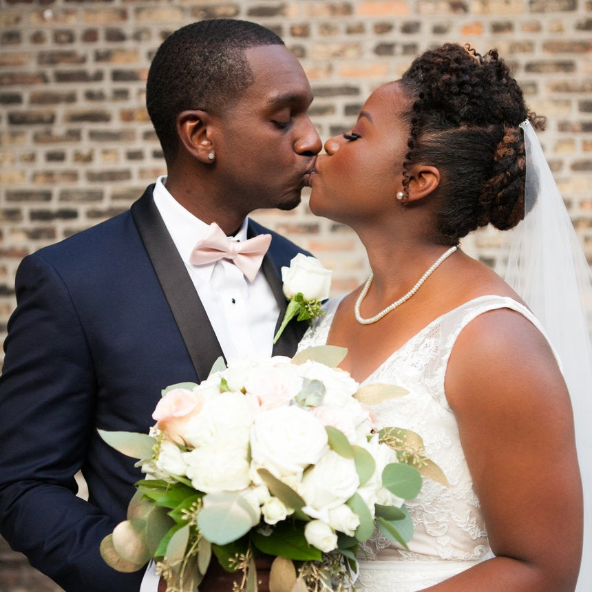 Bridal Bliss: See Why We Love Marcus and Kristin's Modern Wedding So Much