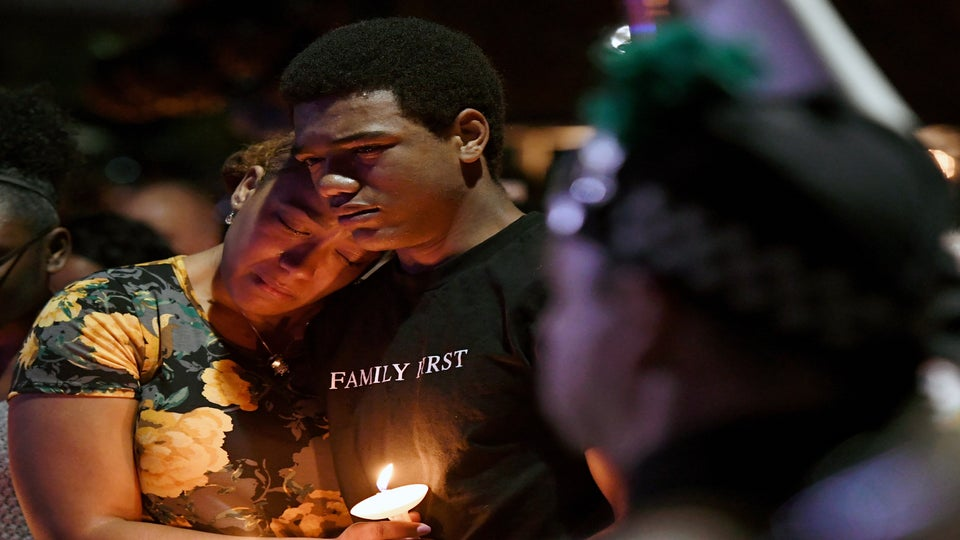 Thousands Attend Vigil For Las Vegas Police Officer Killed In Massacre