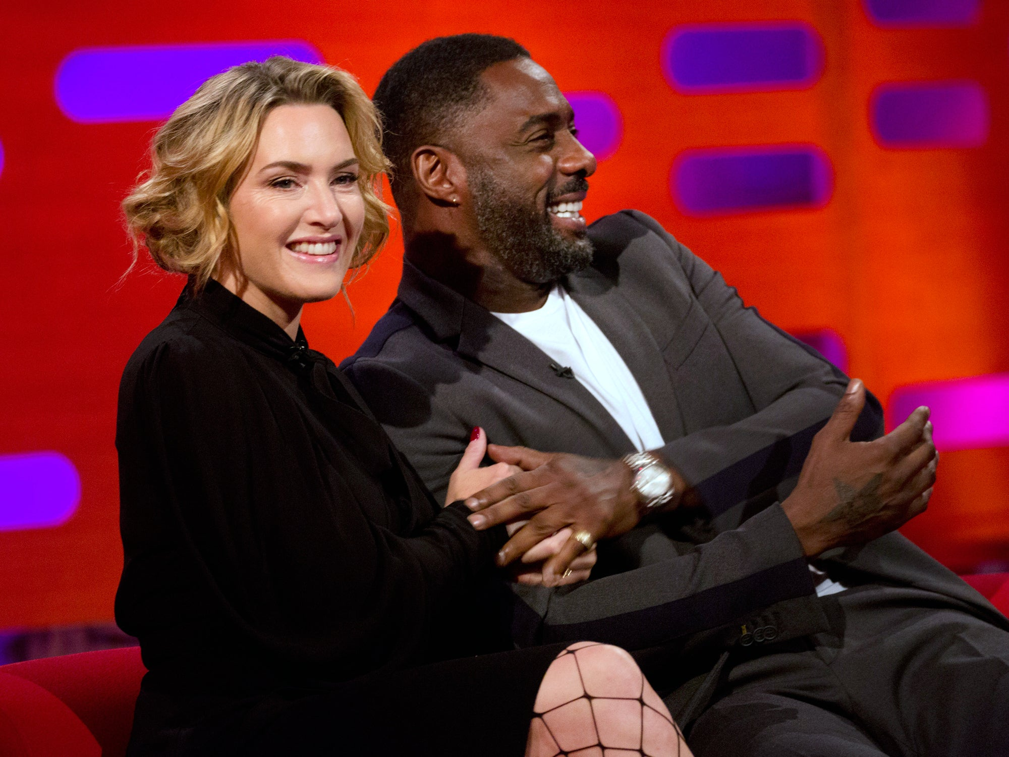 Kate Winslet Reveals Idris Elba Has A Foot Fetish