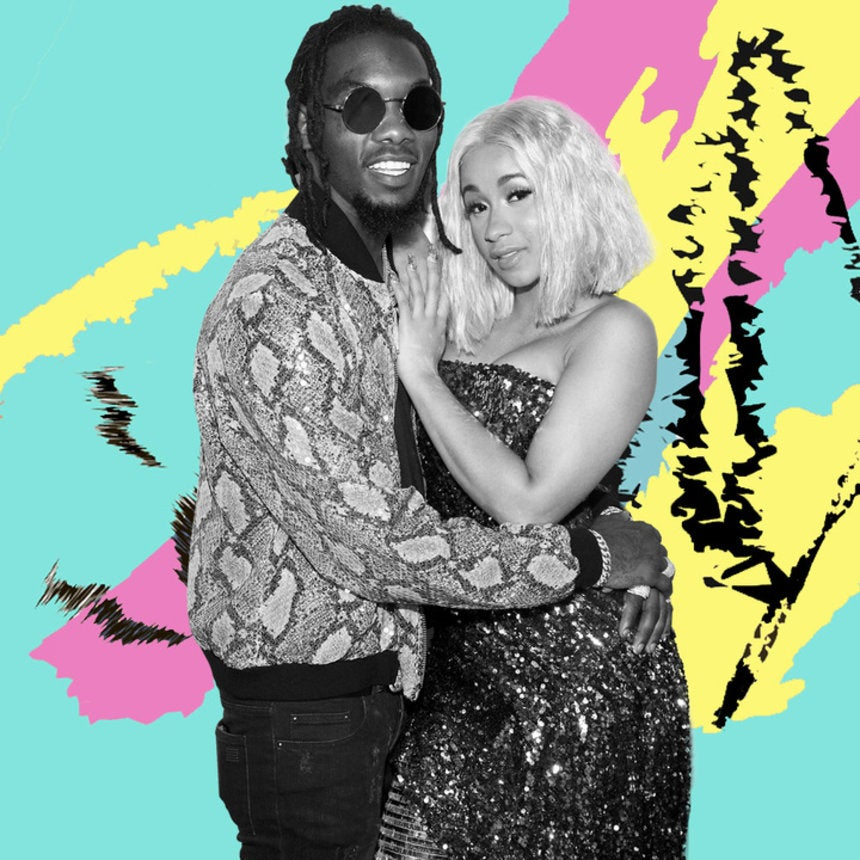 Cardi B Reveals Fiancé Offset Has Picked Out The Name For Their Baby