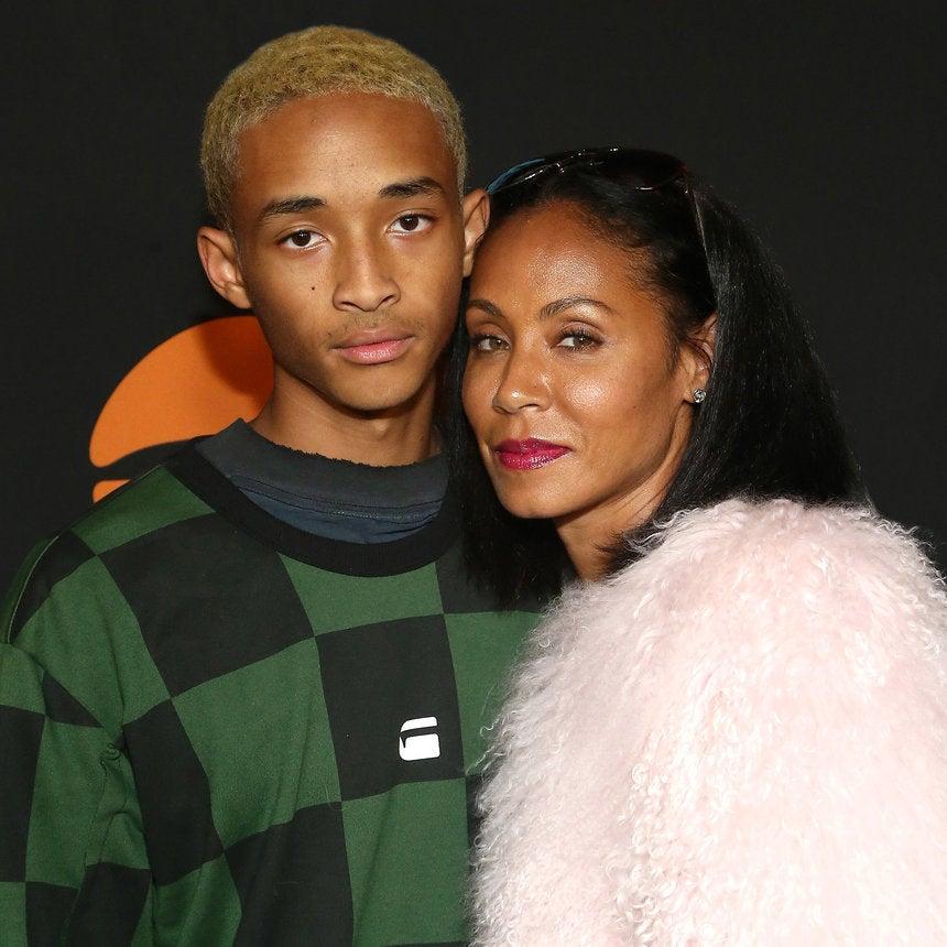 Jada Pinkett Smith Shares Adorable Throwback Of Son Jaden Smith
