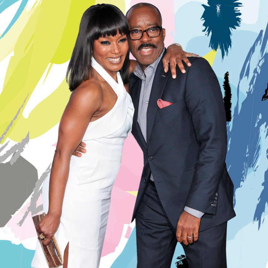 Black Love For Life: 8 Times Angela Bassett and Courtney B. Vance Were Crazy In Love