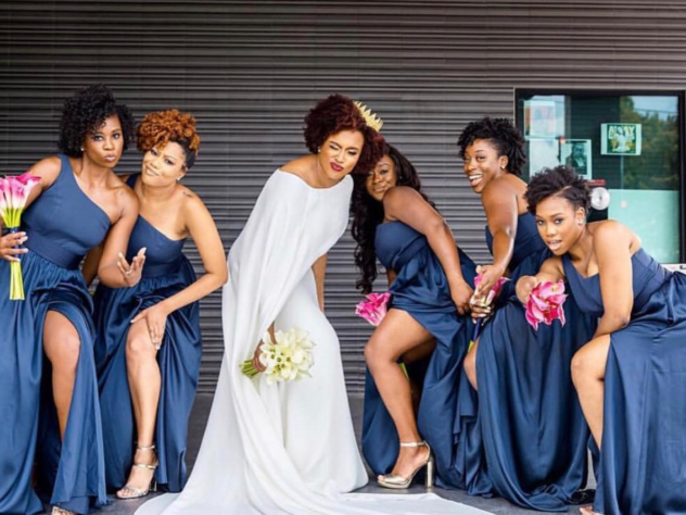 Black Wedding Moment Of The Day: We Love How This Bride Rocked A Crown On Her Big Day