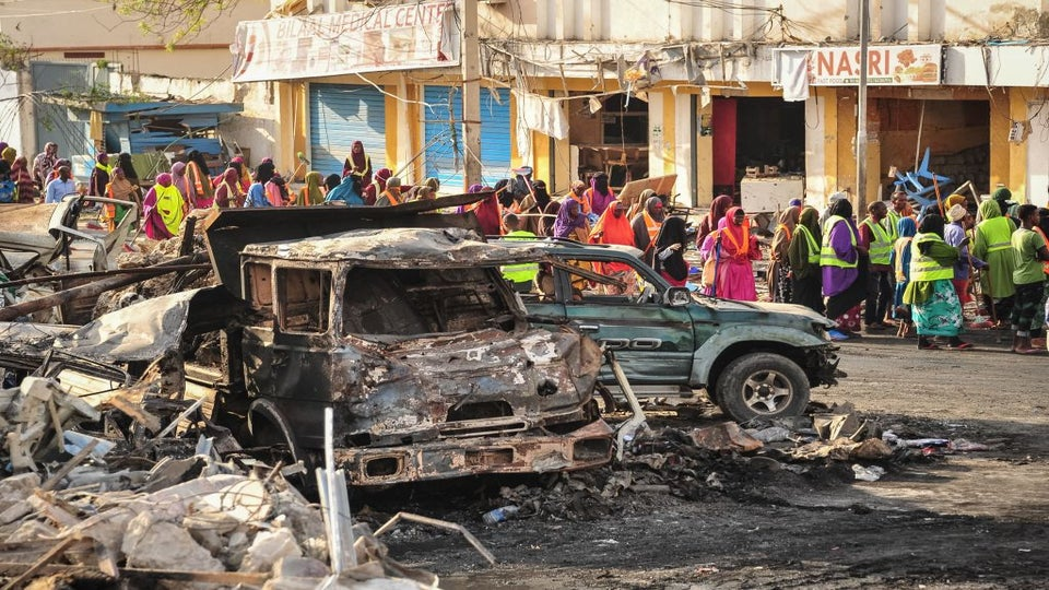 Over 231 Dead After Blast Rocks Somali Capital