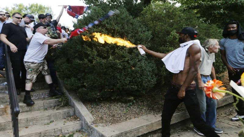 The Iconic Flamethrower From The Charlottesville Rally Has Been Arrested