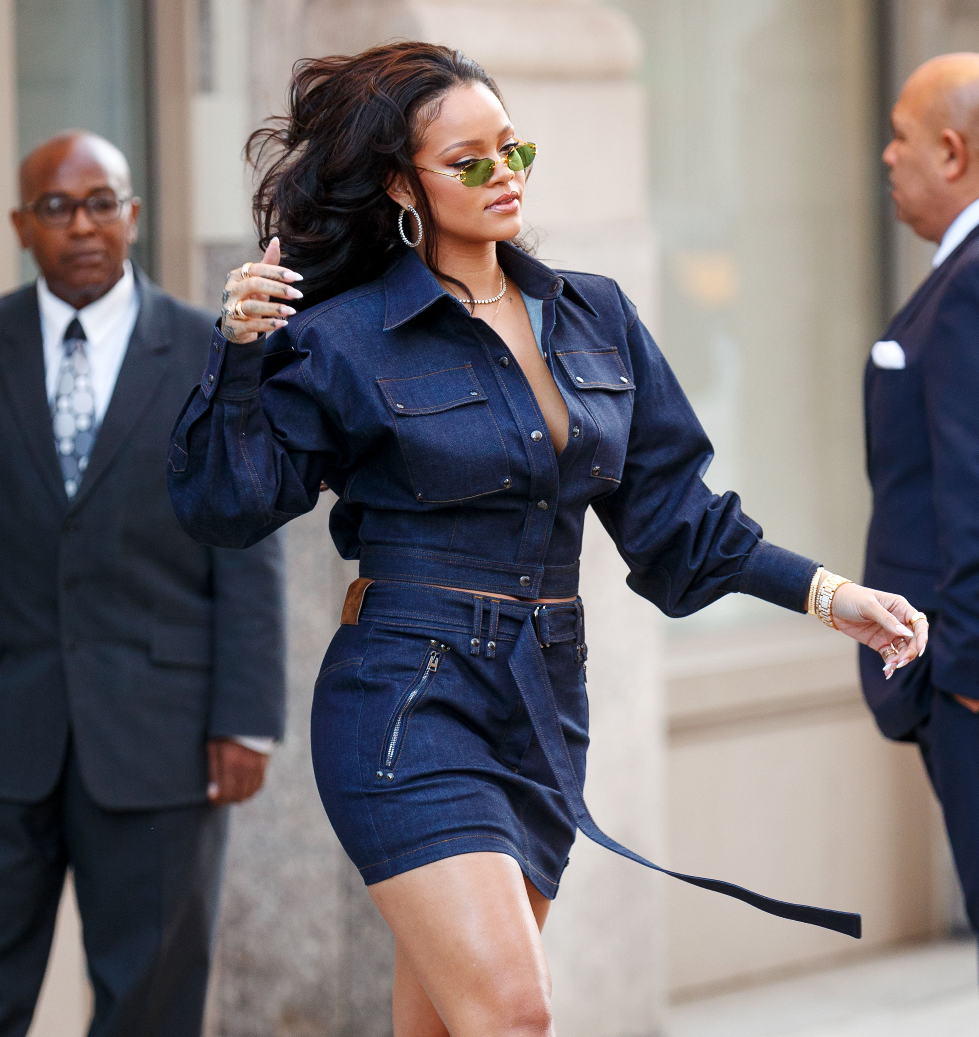 Rihanna Subtlety Addresses That Chatter About Her Being Thicker