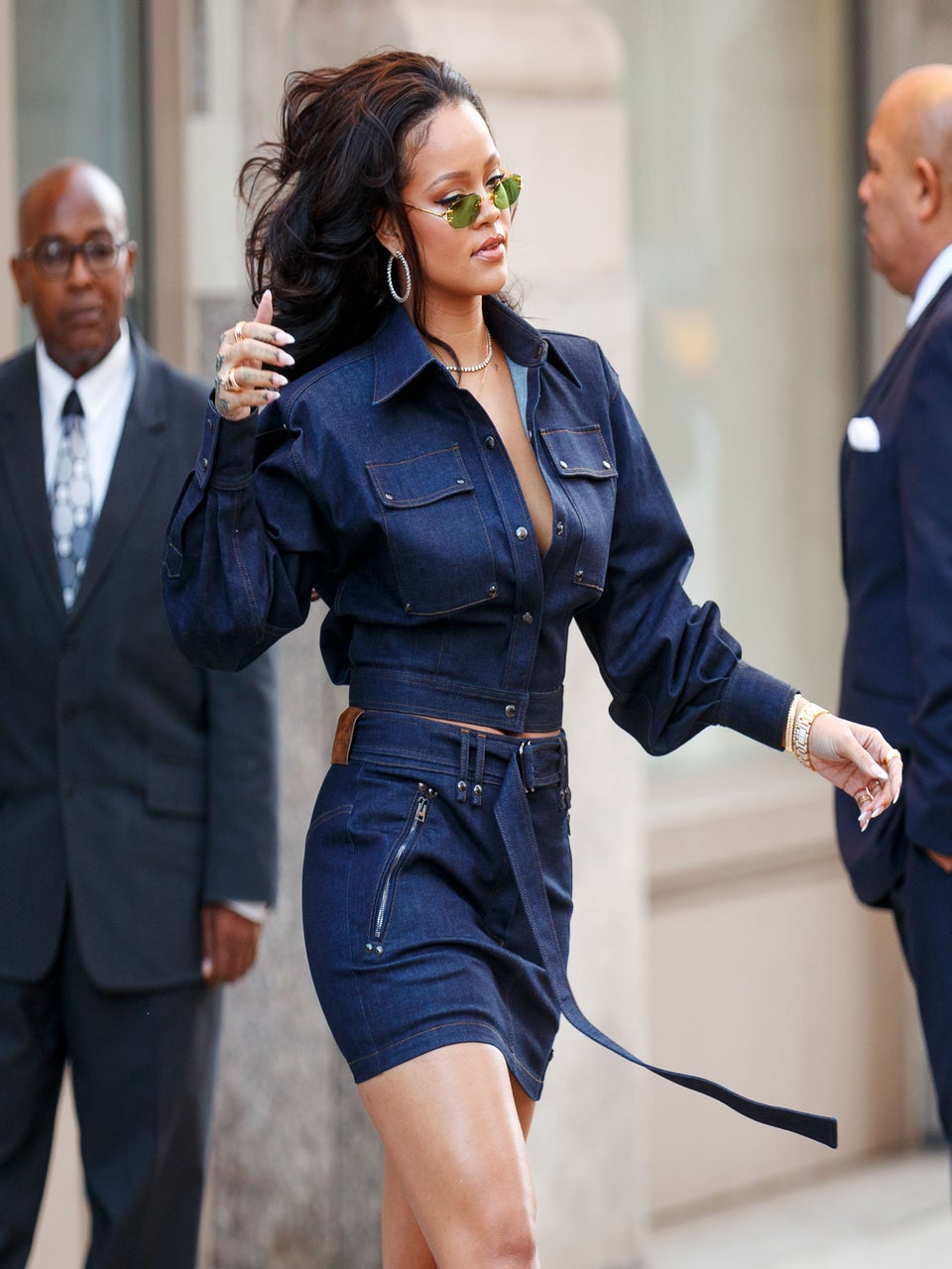 Rihanna Subtlety Addresses ThatChatter AboutHer Being Thicker