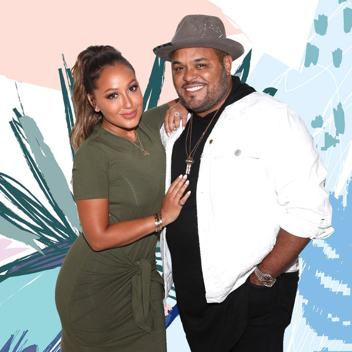Adrienne Bailon and Husband Israel Houghton's Listening Party Doubles As Date Night For Your Favorite Christian Couples